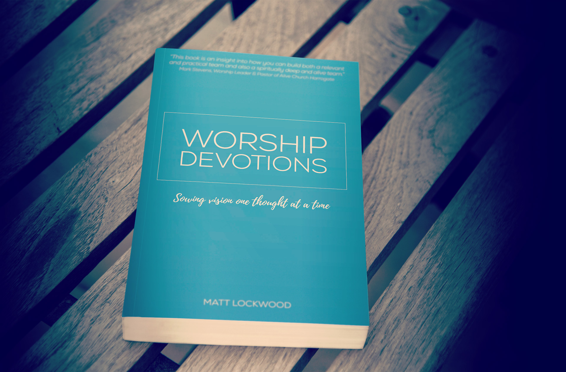 Worship Devotions, one of the titles produced for Great Big Life Publishing