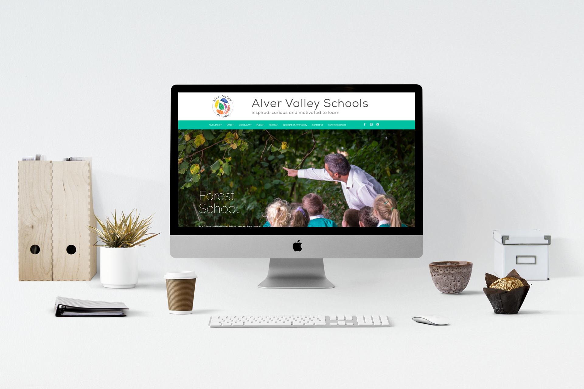 Website for Alver Valley Schools