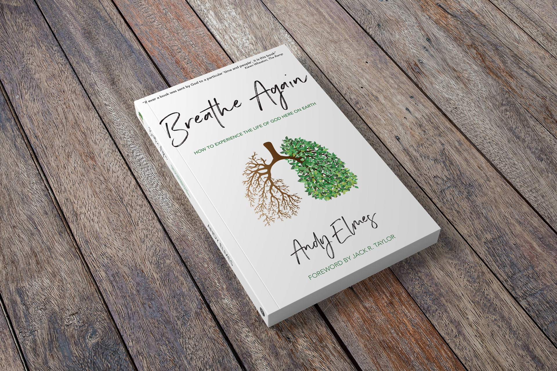 Breathe Again, book cover