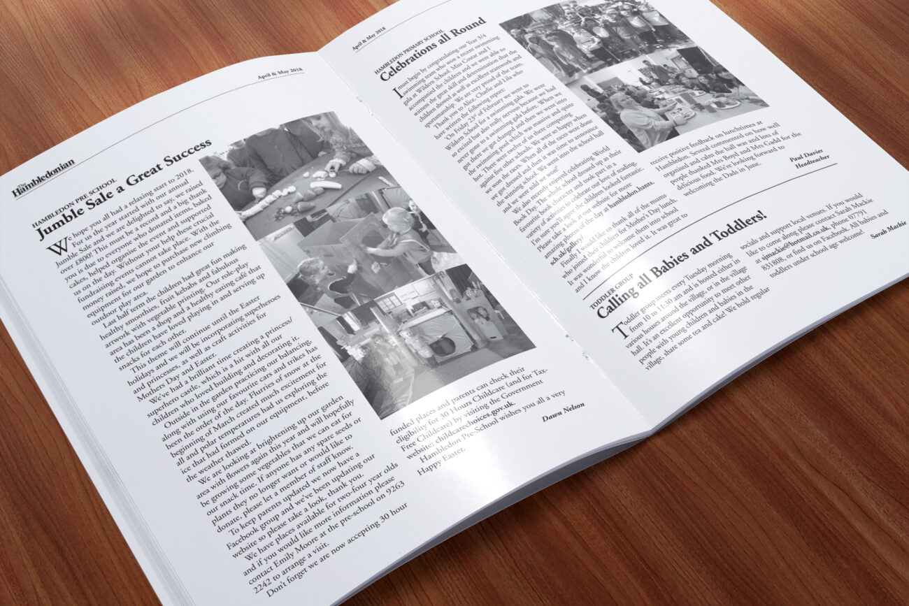 The Hambledonian parish magazine