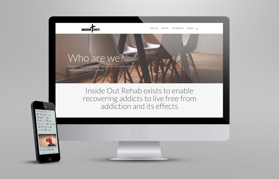 Website for Inside Out Rehab