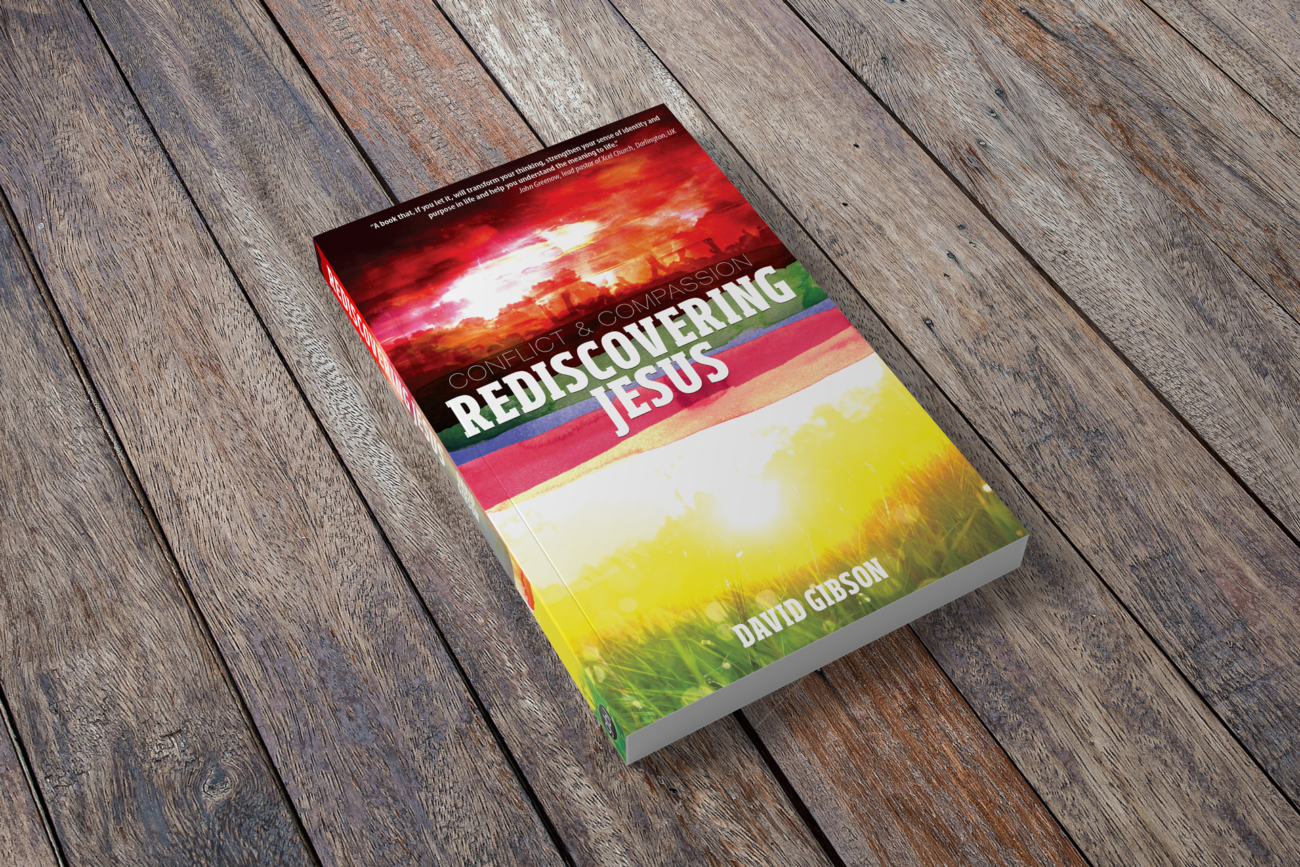 Conflict & Compassion: Rediscovering Jesus, book cover