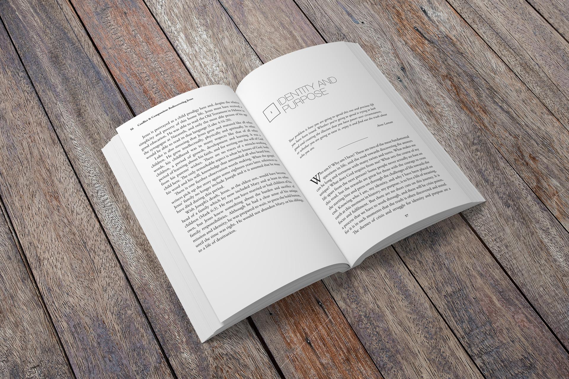 Conflict & Compassion: Rediscovering Jesus, book interior